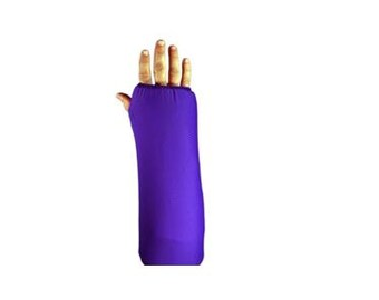 Fashionable Arm Cast Cover in Purple for Short Arm Cast