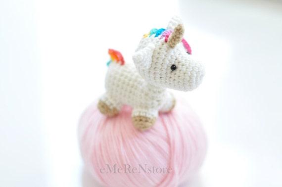 Amigurumi Unicorn : Amigurumi unicorn plush free shipping unicorn amigurumi