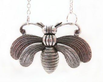 Moth Necklace Insect Jewelry