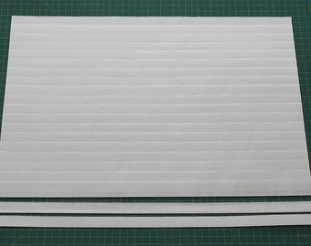 "Size 1/2""(12""W x 50""L) Mr. Pleater Board, pleats fabric, fast and easy."