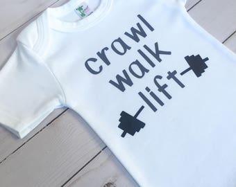 Crawl Walk Lift   Baby Weightlifting