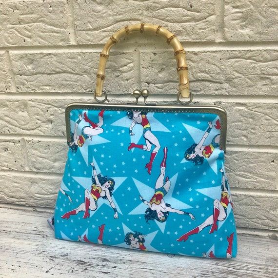 Wonder Woman Handbag Retro Rockabilly 1950's Inspired