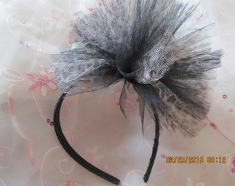 Tulle Leopard Print Headband - Tulle Puff Headband - Leopard Print Headband