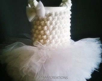 Baby Tutu Dress/ Baby Girls Clothing/ Handmade Dress