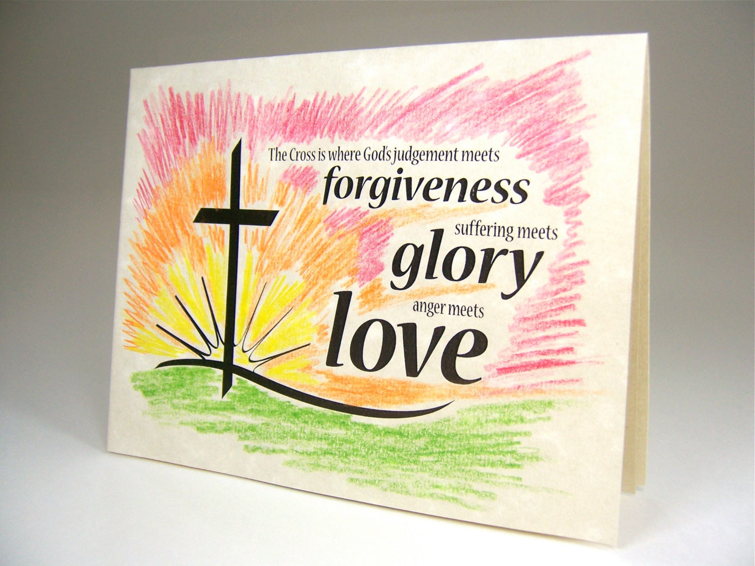 Christian religious events card for baptism easter zoom negle Gallery