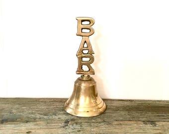 Brass Bar Bell / Brass handbell