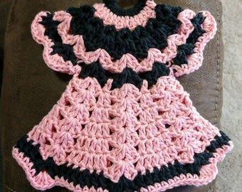 Crochet Dress Pot Holder