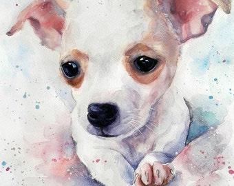 Christmas gifts for her Custom Dog portrait Custom Dog Painting Custom Pet portrait Watercolor Painting Original Painting Labrador portrait