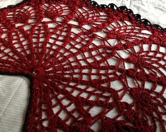 Lacy Spiderweb Shawl