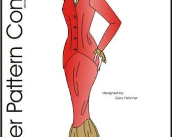 """City Girl Pattern for 16"""" Ellowyne Dolls Tonner"""