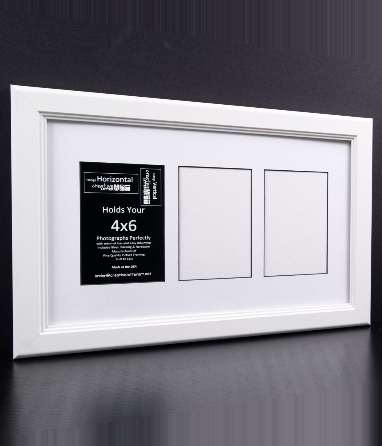 4x6 multiple 3 4 5 6 7 8 9 10 opening white picture frame with zoom jeuxipadfo Images