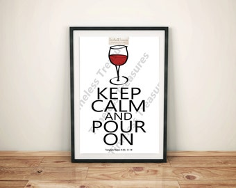 Kitchen (H) - Keep Calm and Pour On
