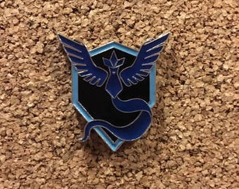 Pokemon GO Team Mystic Enamel Pin