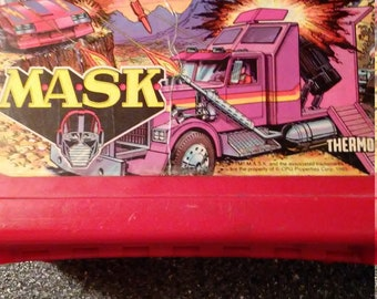 1985 Mask lunchbox