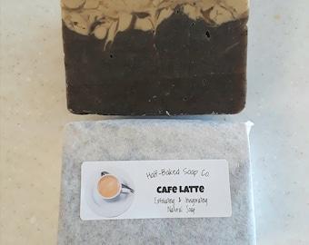 Cafe Latte Exfoliating Natural Soap