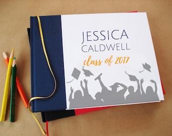 CUSTOM Graduation Guest Book · Gift for Graduate · Graduation Gift · Graduation Party Decoration · Graduation Gift · Graduation Book