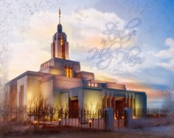 LDS Draper Temple 'Stand Ye in Holy Places' Series