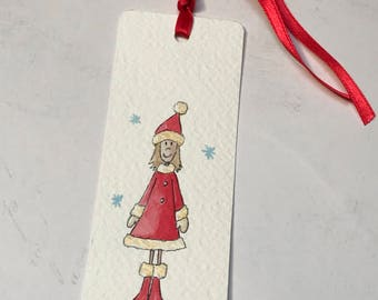 Placeholder Bookmark bookmark or Christmas or Christmas Place