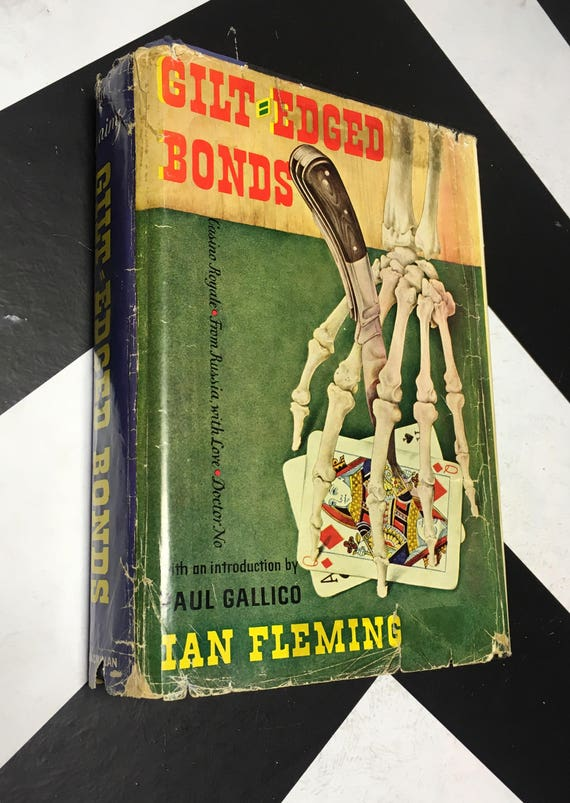 Gilt-Edged Bonds: Casino Royale, From Russia, with Love, Doctor No by Ian Fleming with and Introduction by Paul Gallico (Hardcover, 1961)