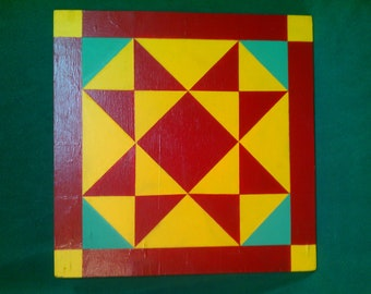 Hand Painted Barn Quilt  0002