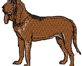 Bloodhound Dog Embroidered Towels, Dog Towels, Personalised Towels, Bloodhound 7