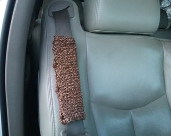 Knitted Seatbelt Cover