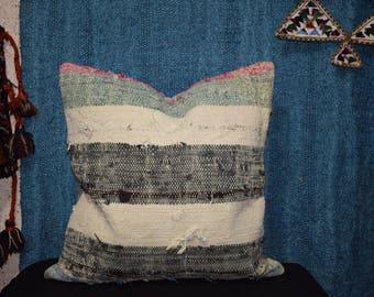 20 INC Handwoven kilim pillow Home floor kelim pillow Striped kilim pillow Sofa pillow cover Couch pillow Set kilim pillow Rug pillow AG-01