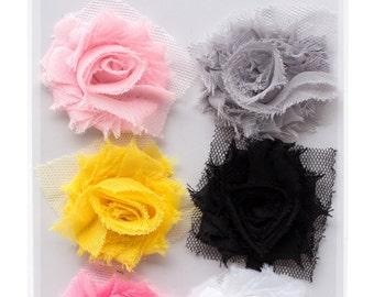 Pink Paislee Bella Rouge - Frayed Flowers -- MSRP 4.00
