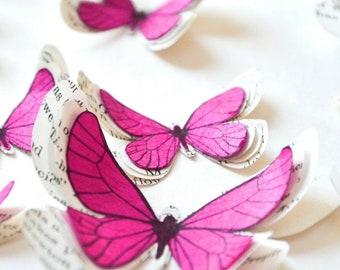Butterflies for wedding, fairytale wedding decorations, nursery butterfly wall decor, bachelorette party decorations, for wedding party