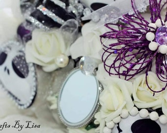 Nightmare before Christmas theme bridal bouquet