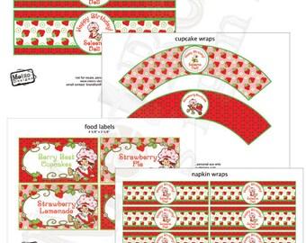 Original Strawberry Shortcake Party Decorations