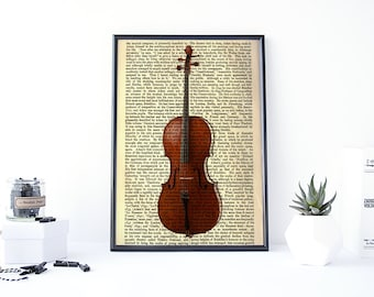 Very best Violin art print | Etsy IK94