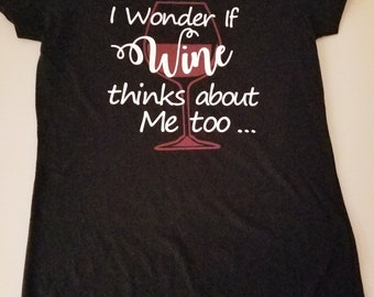 I wonder if Wine thinks about me too