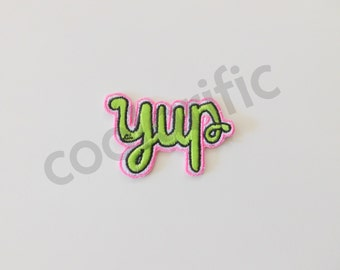 YUP Sticker Patch