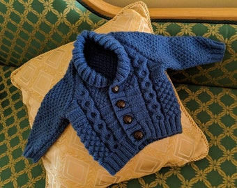 Blue Baby Cardigan