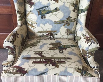 Aviator EAA WingBack Chair