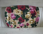 Vintage Floral Tray - Mad...
