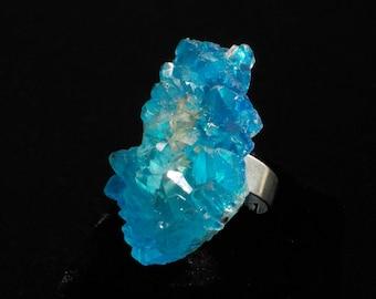Magical - Crystal ring fantasy sky blue