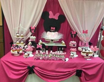 Cabeza Minnie y Mickey