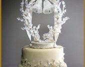 Vintage Wedding Bells Cak...