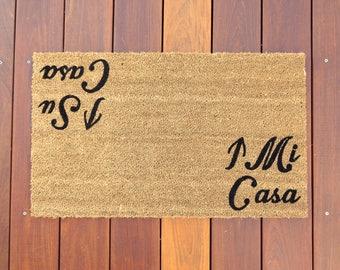 Mi Casa / Su Casa™ Door Mat (doormat) - funny, grumpy doormat
