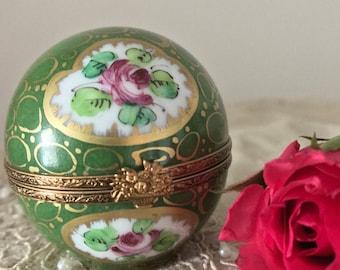 Vintage Limoges trinket box