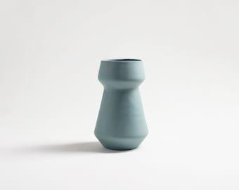 flower vase, ceramic vase, decorative vase, wedding vase, table centrepiece, dine table centerpiece, teal, ceramique, pottery, turquoise