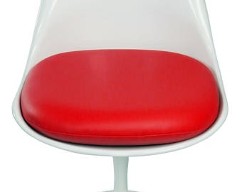 Durable Vinyl Replacement Cushion for Saarinen or Burke Tulip Side Chair - Many Colors Available