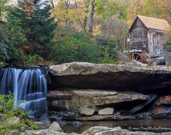 Glade Creek Grist Mill in Babcock State Park, WV #4300