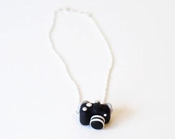 DSLR camera handmade pendant necklace