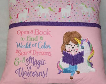 Unicorn Reading Pillow