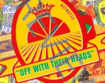Tshirt - Kaiser Chiefs: Off with Their Heads (2008)