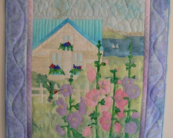 Beach House Quilt Wall Hanging