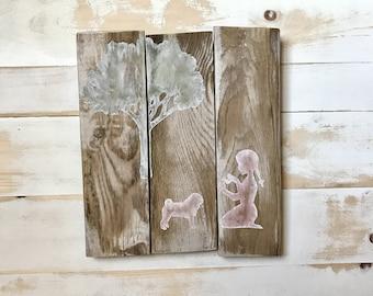 NURSERY DECOR SALE - Rustic Nursery - Baby Shower Girl - Rustic Nursery Art - Nursery Decor Girl - Nursery Wall Art - Playroom Decor - Baby